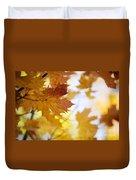 Maple Tree In Autumn Duvet Cover