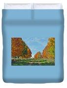 Maple Tree Lane Duvet Cover