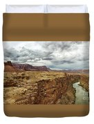 Marble Canyon Overlook Duvet Cover