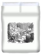Marble: Quarry, 1852 Duvet Cover