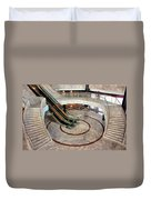 Marble Staircases Duvet Cover
