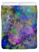 Marbled Clouds Duvet Cover