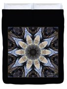 Marbled Mandala - Abstract Art Duvet Cover