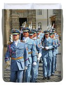Marching Guards Duvet Cover