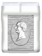 Marcus Tullius Cicero Duvet Cover