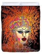 Mardi Gras Duvet Cover by Natalie Holland
