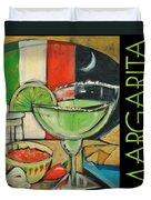 Margarita Poster Duvet Cover