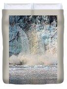 Margerie Glacier Calving Duvet Cover