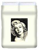 Marilyn Monroe Duvet Cover by Debbie DeWitt