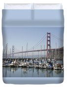 Marina At Golden Gate Duvet Cover