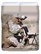 Marine Gives Instructions On How Duvet Cover