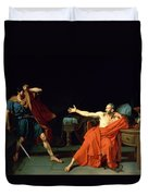 Marius At Minturnae Duvet Cover by Jean-Germain Drouais