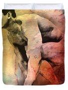 Mark Duvet Cover