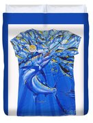 Marlin Ladies Shirt Duvet Cover