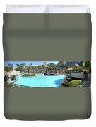 Marriott Hotel Swimming Pool Panorama Orlando Fl Duvet Cover