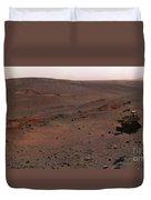 Mars Exploration Rover Spirit Duvet Cover by Stocktrek Images