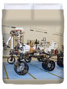 Mars Science Laboratory Rover Duvet Cover