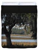 Marsh Oak Duvet Cover