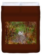Marsh Spider Web Duvet Cover