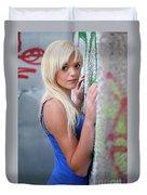 Marsha2 Duvet Cover