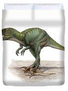 Marshosaurus Bicentesimus Duvet Cover