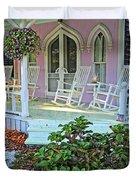 Marthas Vineyard Cottage Duvet Cover
