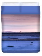 Martian Outpost Abandoned Zone Duvet Cover