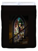 Martin Luther At Historic Zion Duvet Cover