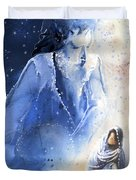 Mary Magdalene Duvet Cover by Miki De Goodaboom