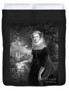 Mary Queen Of Scots Duvet Cover by Photo Researchers