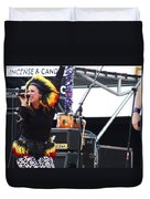 Maryjane Sings Loud And Proud Duvet Cover