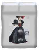 Masha From 'the Three Sisters' Duvet Cover
