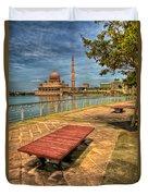 Masjid Putra Duvet Cover