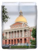 Massachusetts State House I Duvet Cover