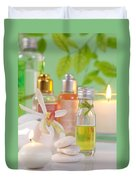 Massage Spa Concepts Duvet Cover