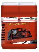Massey Harris Details Duvet Cover