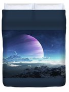 Massive Lei Gong Rises In The Distance Duvet Cover