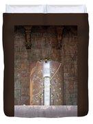 Massive Shiv Lingam Bhojpura Duvet Cover