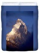 Matterhorn Morning-2 Duvet Cover
