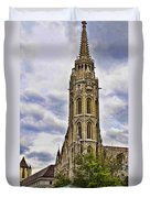 Matthias Church Tower - Budapest Duvet Cover