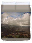 Maui Beneath The Clouds Duvet Cover