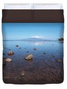 Maui Rocky Shore Duvet Cover