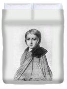 Maurice Sand (1823-1889) Duvet Cover