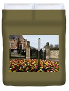 May Peace Prevail On Earth Duvet Cover