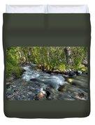 Mcgee Creek California Duvet Cover