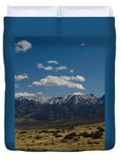 Meadow And Mountains Duvet Cover