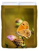 Meadow Brown Butterfly  Duvet Cover