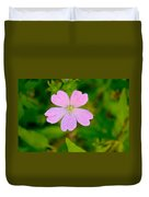 Meadow Checker Mallow Duvet Cover