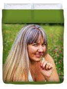 Meadow Fairy Duvet Cover