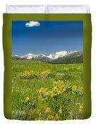 Meadow Landscape Duvet Cover